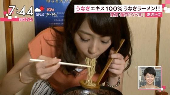 【擬似フェラキャプ画像】食レポで必ずと言ってもいいほどエロい顔になっちゃう女子アナ達w 04
