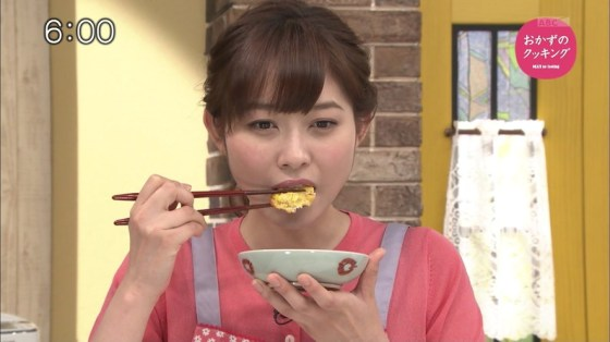 【擬似フェラキャプ画像】食レポで必ずと言ってもいいほどエロい顔になっちゃう女子アナ達w 11