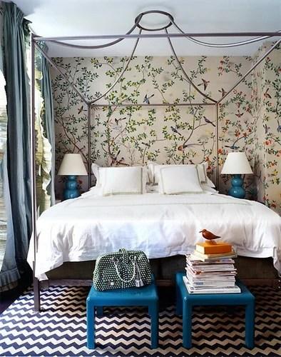 кровать с пологом спальня дизайн