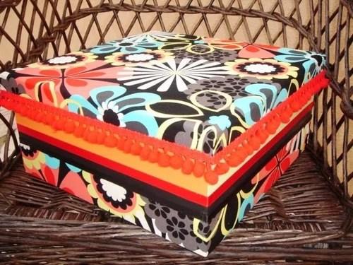 коробка для рукоделия хендмейд своими руками