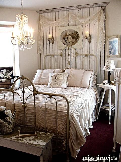 винтажная спальня ретро стиль в интерьере