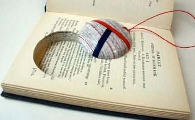хендмейд украшения из старых книг