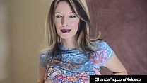 Canadian Cougar Shanda Fay spreads her legs & gets her man to tongue her pussy & penetrate her with his hard cock, so he can cum all over her creamy cunt lips!
