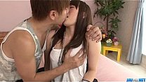 Yuri Sato big tits gal enjoys harsh sex