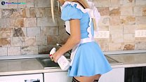 Ginger Devil is a very fuckable maid ready for Don Mauros cock