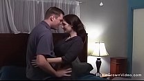 Couple make their first homemade porno in bed