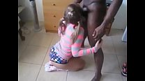 My Horny GF Agreed for Threesome Fuck with Big Black Cock