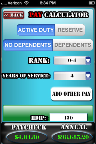 Retirement Calculator Retirement Calculator Military Pay