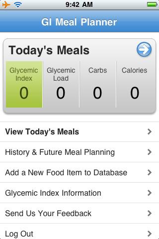 Meals Diabetic Meal Planner