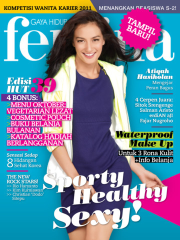 FEMINA INDONESIA MAGAZINE Lifestyle Indonesian Women