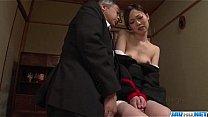 Misaki Yoshimura obedient babe fucked with toys