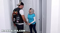 MIA KHALIFA - My White Devil Boyfriend Cums Over For Dinner And Step Mom Goes Crazy
