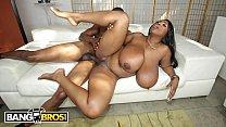 Ebony big tits woman