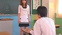 Akiho Yoshizawa at school
