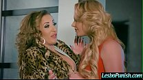 (Phoenix Marie & Richelle Ryan) Sexy Lesbian Get Dildo Sex  Punished  By Mean Lez clip-26
