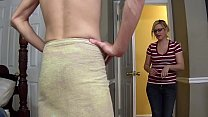 MILF creampied and fucked by step son - Fifi Foxx, Aiden Valentine