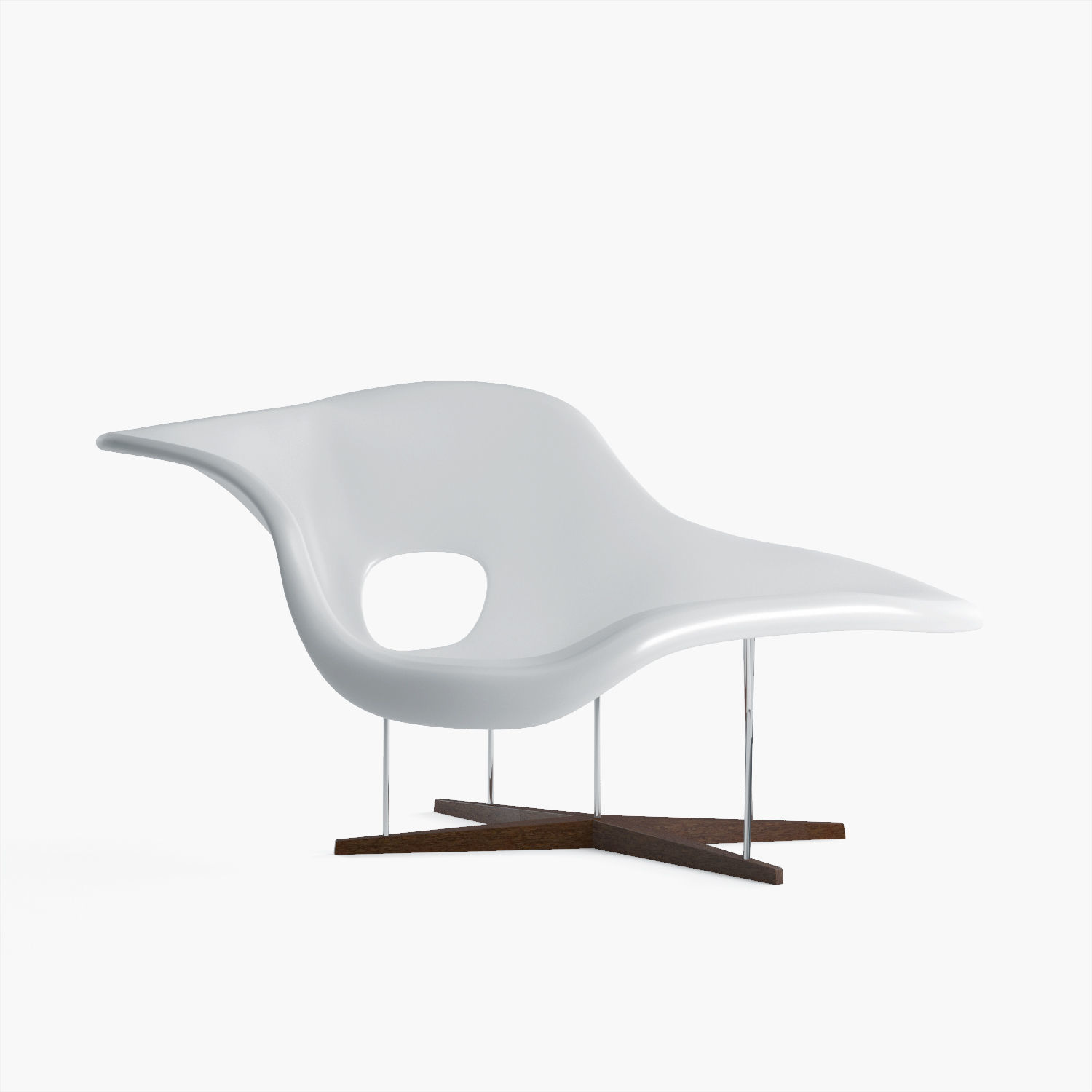 La Chaise Lounge Chair La Chaise Vitra 3d Model