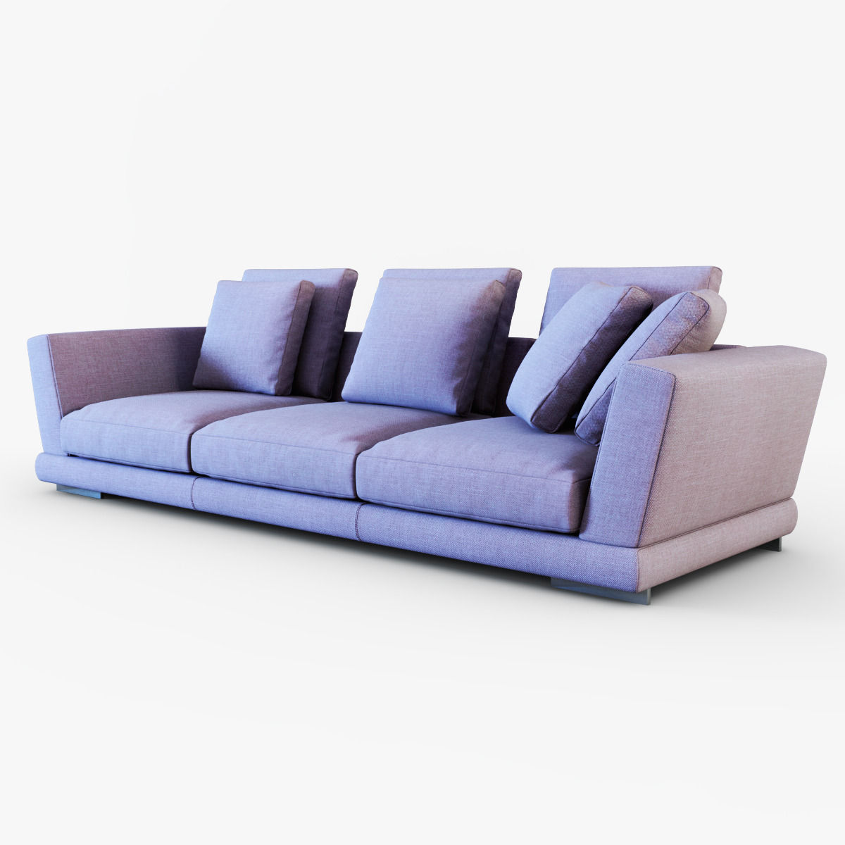 Contemporary Couch Contemporary Sofa James By David Casadesus 3d Model