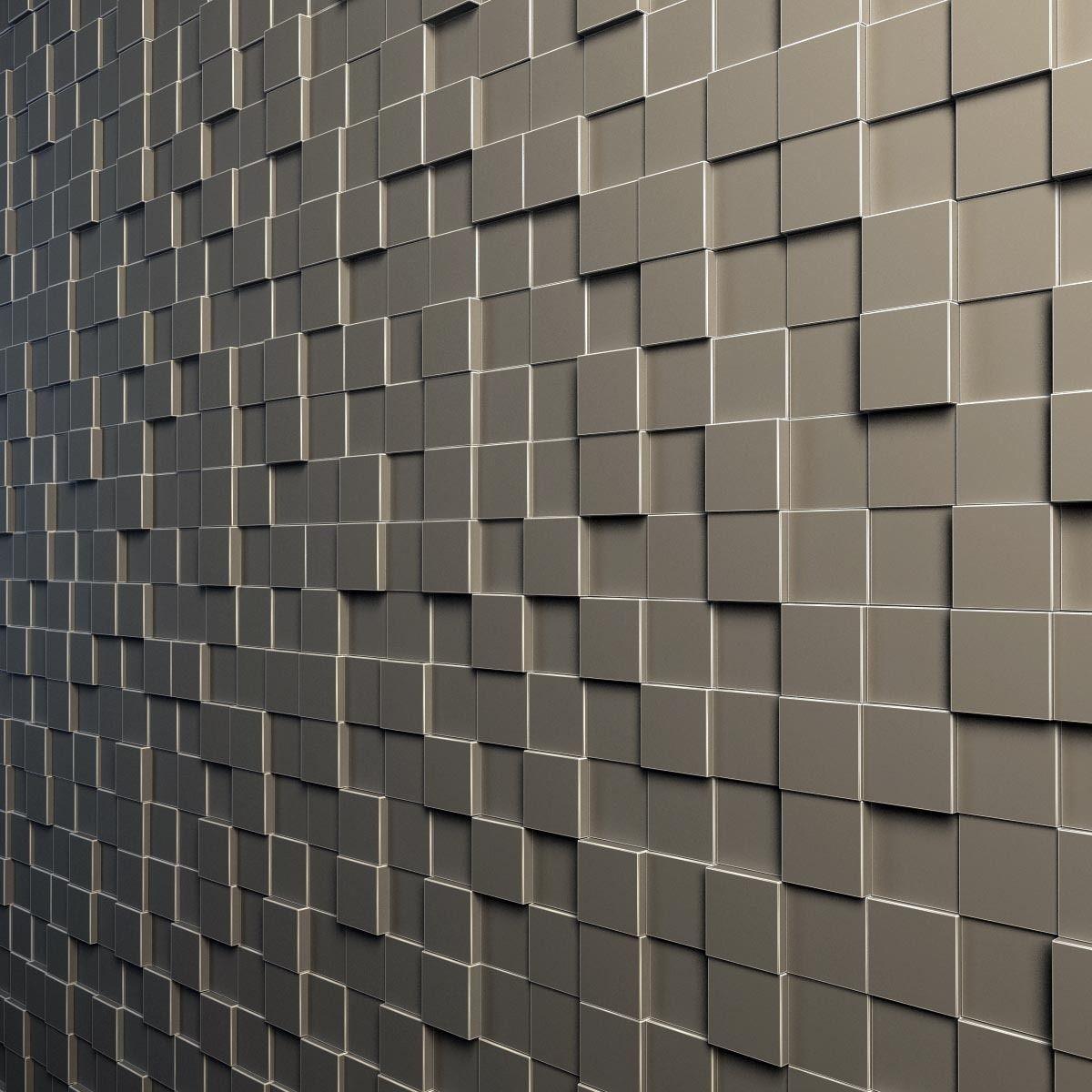 3d Wallpaper For Interior Decoration Teak Interior Cladding 3d Wall 3d Model Max Obj 3ds