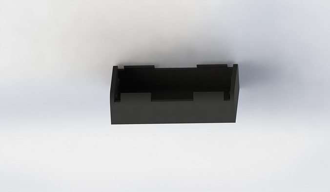 Aa Battery Case Or Holder 2 Ea 3d Printable Model