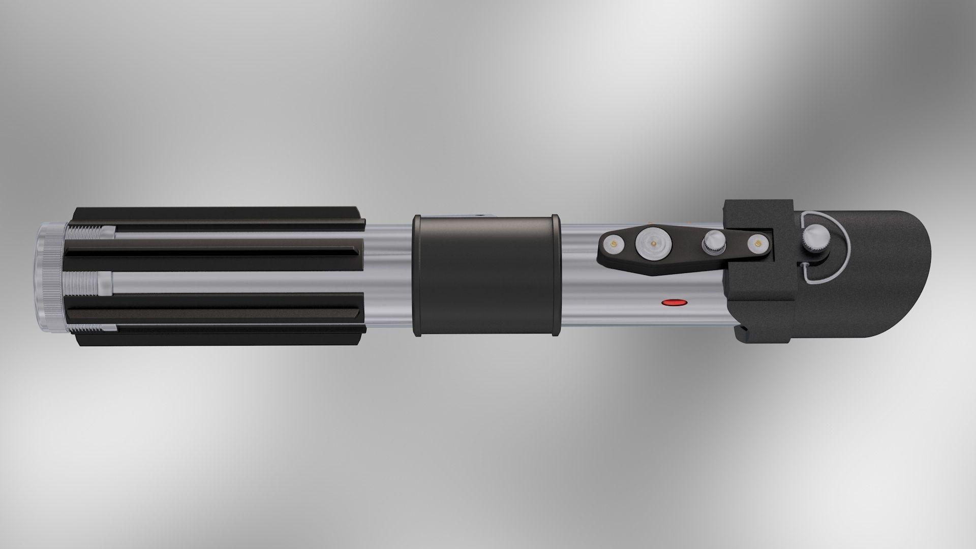 Sith Wallpaper Hd Darth Vader Lightsaber 3d Model Rigged Obj 3ds C4d