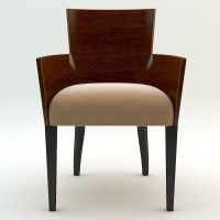 Simple armchair 3D Model .max .obj .3ds .fbx - CGTrader.com