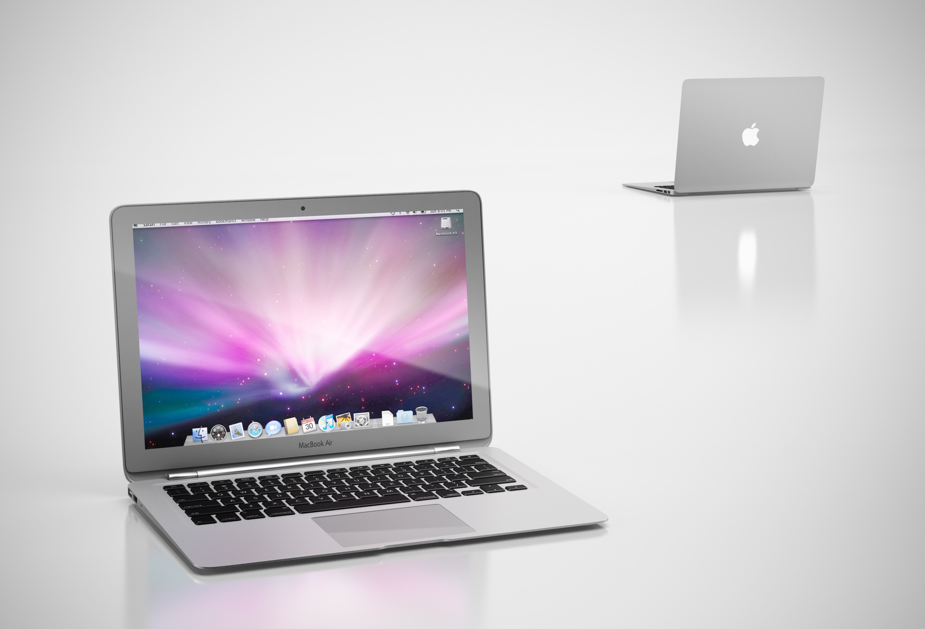 Apple Laptop Apple Computer 3d Model Max Obj 3ds C4d Cgtrader