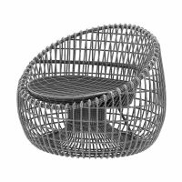 Cane Line Nest lounge chair 3D Model .max .obj .3ds .fbx ...