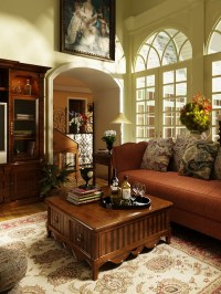 Photorealistic Old-fashioned Living Room 3D Model .max ...