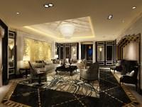Photoreal Fancy Living Room 3D Model .max - CGTrader.com
