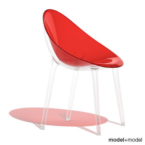 Kartell Mr Impossible Chair 3d Model Max Obj 3ds Fbx