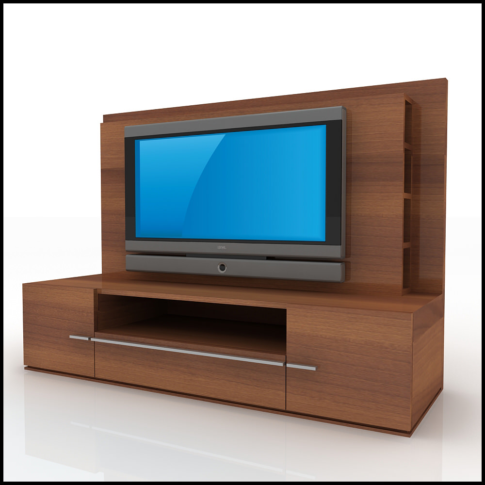 Tv Wall Unit Tv / Wall Unit Modern Design X_01