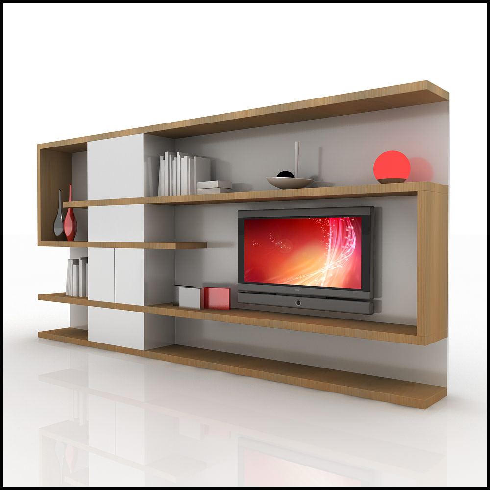 Tv Wall Unit Tv Wall Unit Modern Design X 04 Home Media Center 3d
