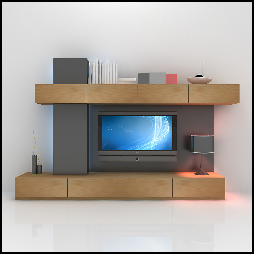 Tv Wall Unit Tv Wall Unit Modern Design X 05 Entertainment Center 3d