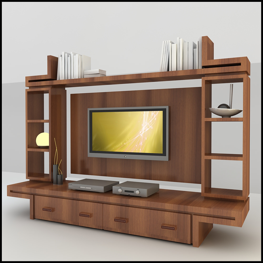 Tv Wall Unit Tv Unit Designs Autocad | Joy Studio Design Gallery - Best