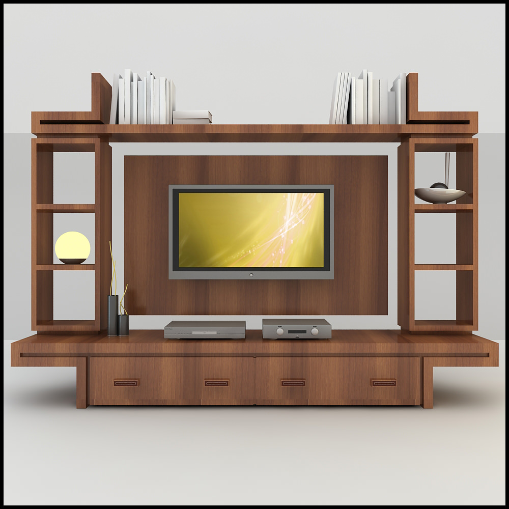 Tv Wall Unit Tv Wall Unit Modern Design X 16 3d Models - Cgtrader.com