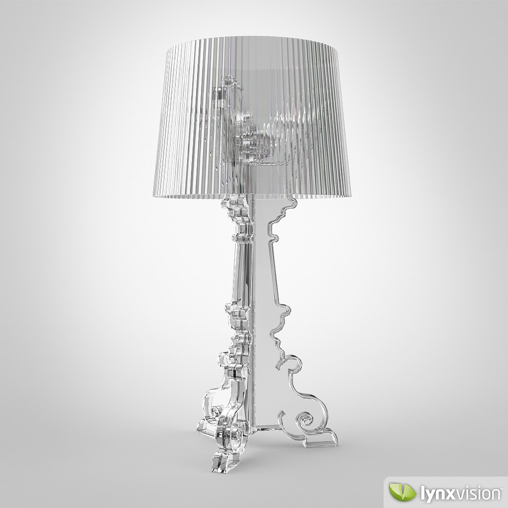 Lamp Kartell Bourgie Lamp By Kartell 3d Model