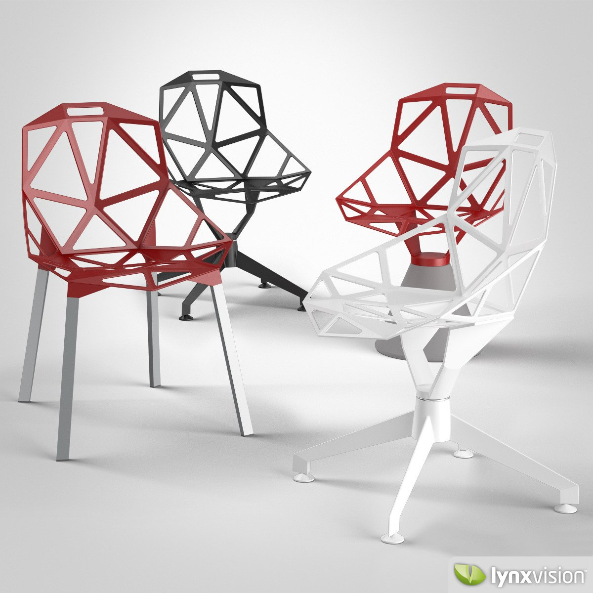 Konstantin Grcic Chair One Chair One Magis 3d Model Max Obj Fbx Cgtrader