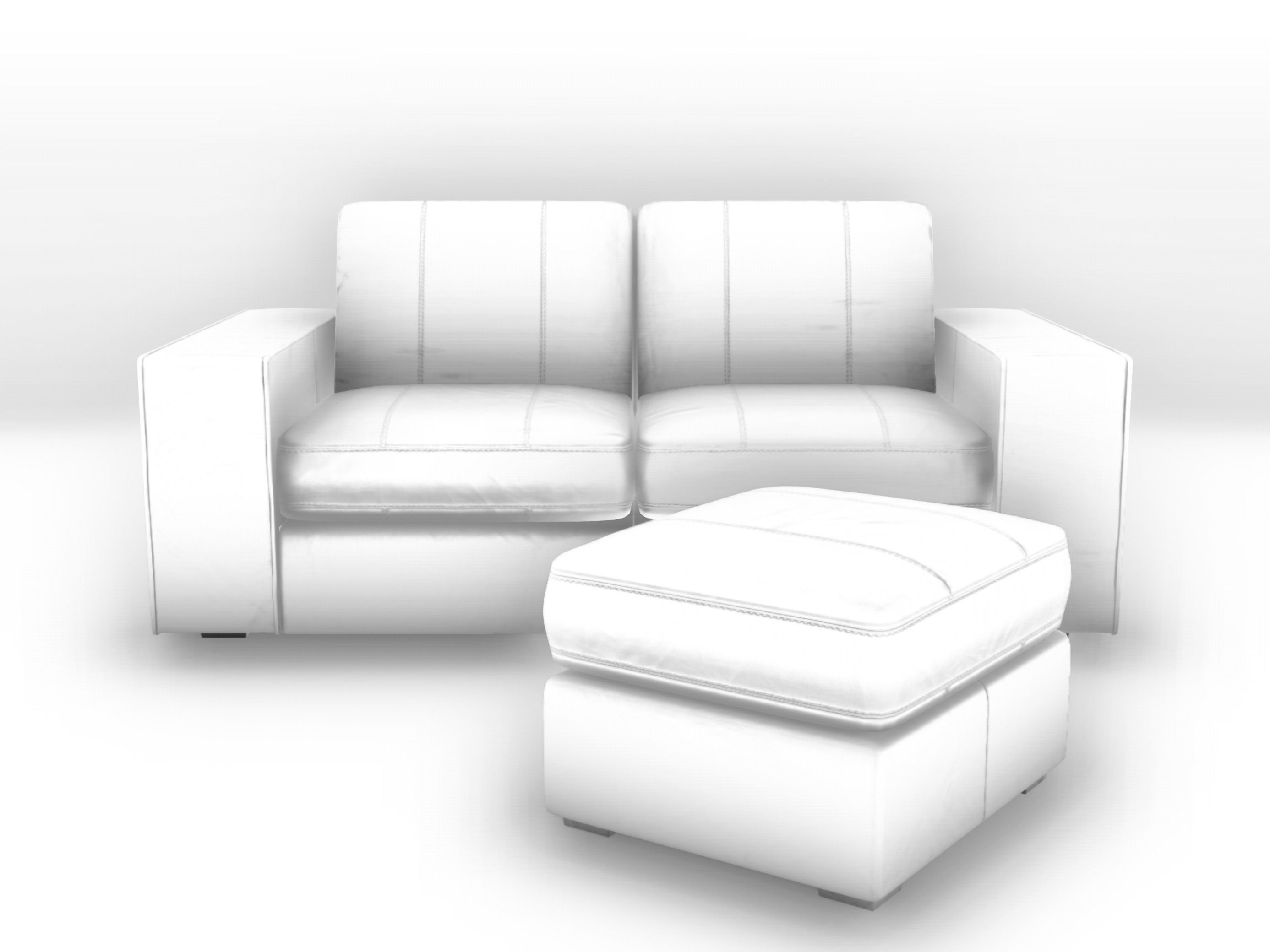 Kivik Sofa Pdf Kivik Style Sofa And Ottoman 3d Model