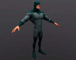 Hanuman Animated Wallpaper Superhero 3d Models Cgtrader Com