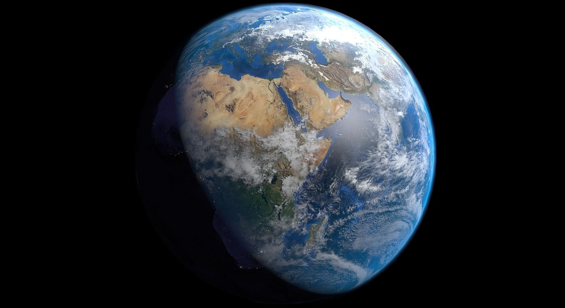 Blender 3d Wallpaper Realistic Earth Free 3d Model 3d Printable Blend