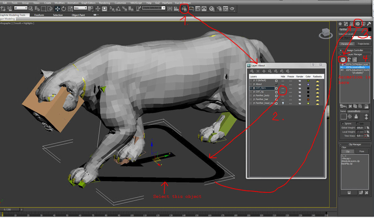 3d Modeling Rendering And Animation Leopard A 3d Model