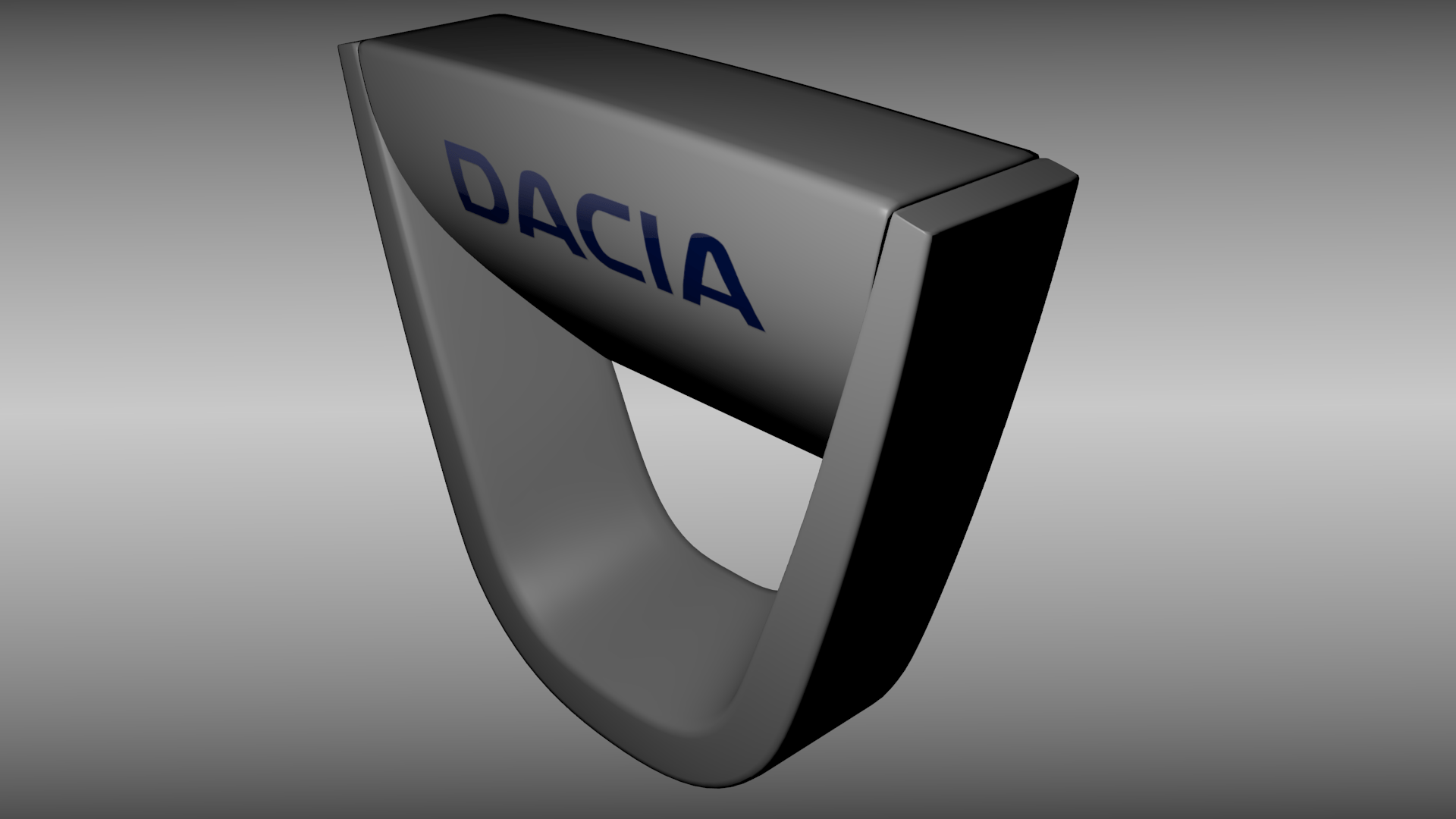 Low Poly Iphone Wallpaper Dacia Logo 3d Model Obj Blend Cgtrader Com