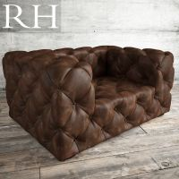Unique Tufted Leather Chair - rtty1.com | rtty1.com