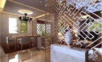 Modern Living Room With Marble Floor Decor... 3D Model ...