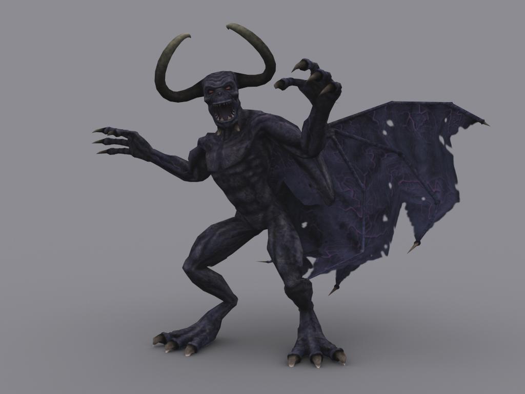 Dragon Skin Girl Wallpaper Demon Game Ready Animated Model 3d Model Game Ready