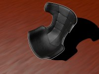 Futuristic Chair 3D Model C4D | CGTrader.com