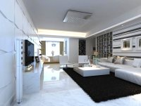 3D Fancy Living Room Interior with Carpet | CGTrader