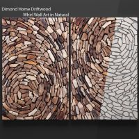 Dimond Home Driftwood Whirl Wall Art in Natural 3D model ...