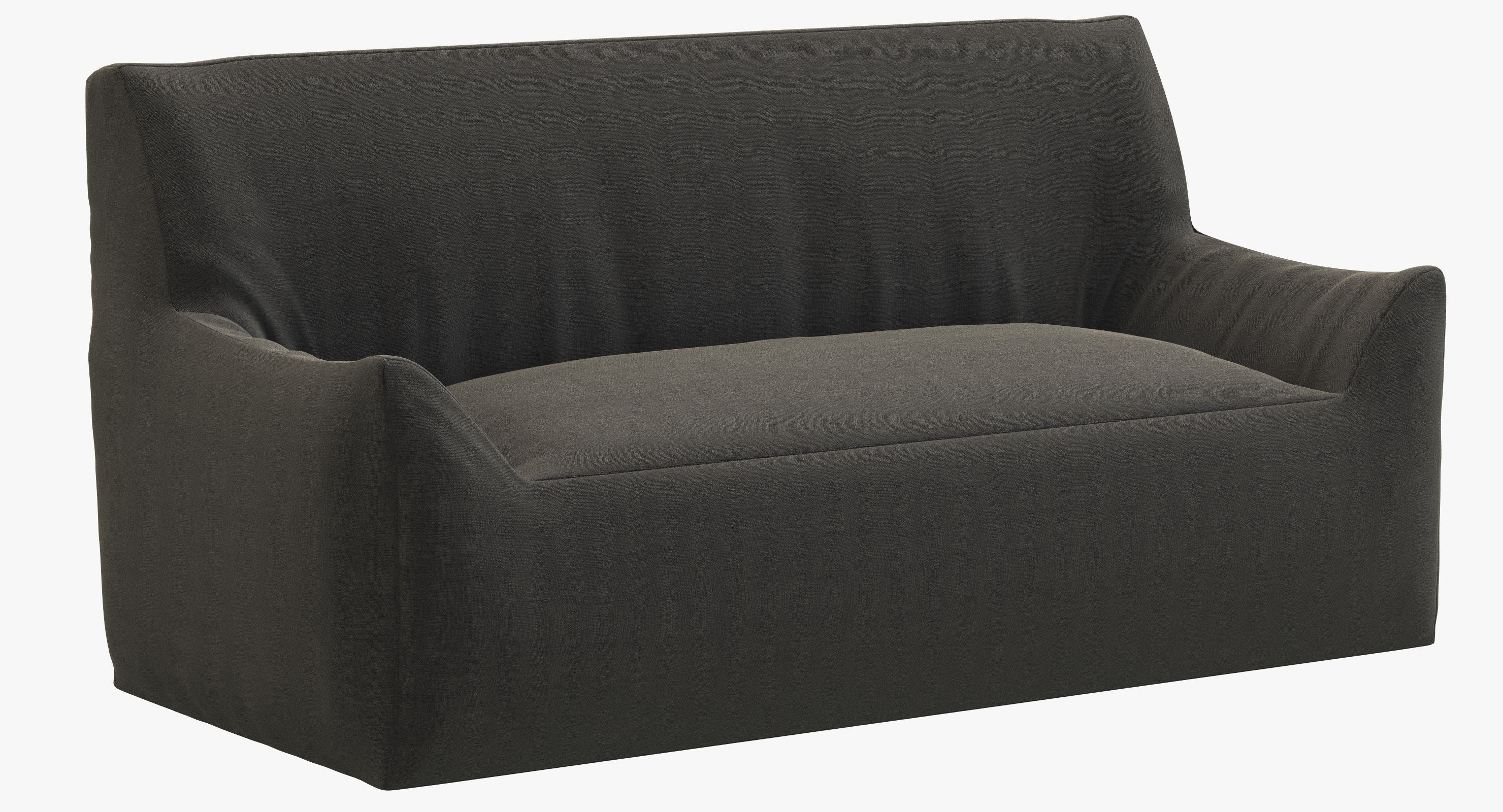 Sofa Berlin Rh Teen Berlin Lounge Canvas Sofa 3d Model